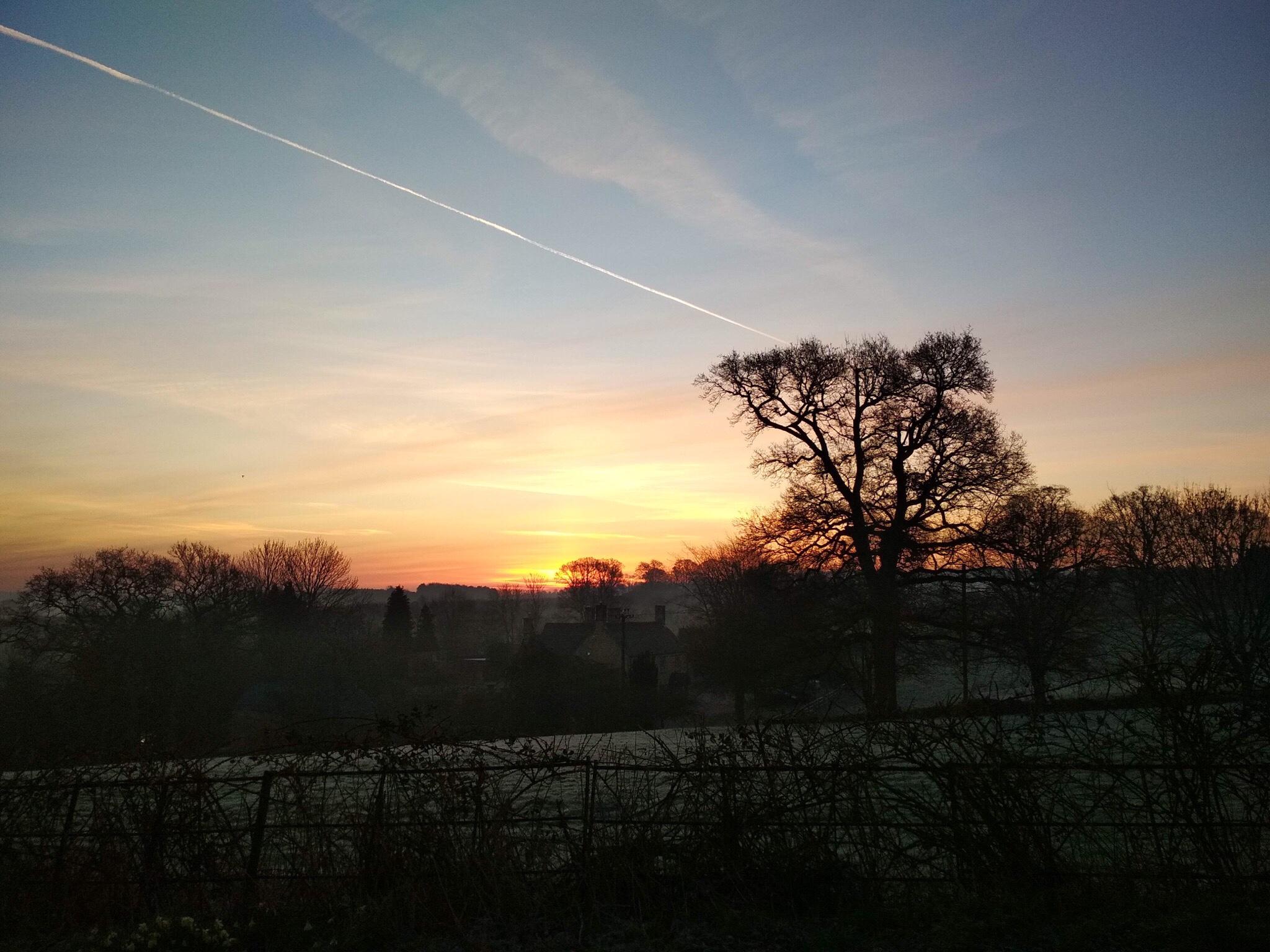 paisaje naturaleza amanecer